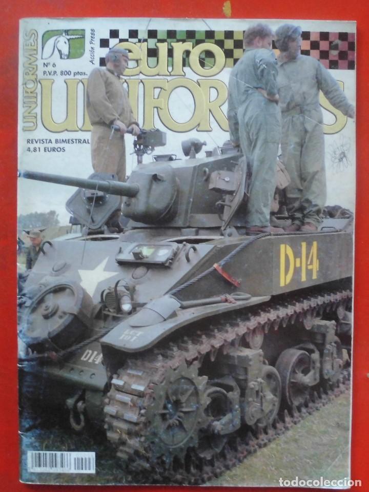 EUROUNIFORMES Nº 6 (Juguetes - Modelismo y Radiocontrol - Revistas)