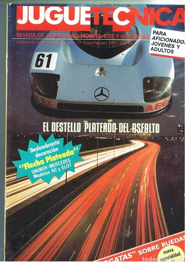 JUGUETETÉCNICA AÑO 1990 ENERO-FEBRERO (Juguetes - Modelismo y Radiocontrol - Revistas)