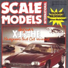 Hobbys: SCALE MODELS AÑO 1986 SEPTIEMBRE. Lote 169396460