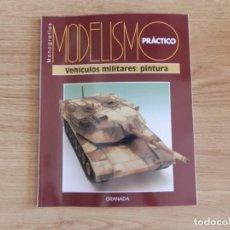 Hobbys: MODELISMO PRÁCTICO: VEHÍCULOS MILITARES: PINTURA. Lote 171611077