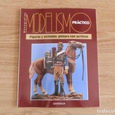 Hobbys: MODELISMO PRÁCTICO: FIGURAS Y ANIMALES: PINTURA CON ACRÍLICOS. Lote 171612454
