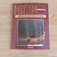Hobbys: MODELISMO PRÁCTICO: MODELISMO NAVAL EN MADERA AVANZADO. Lote 171612603