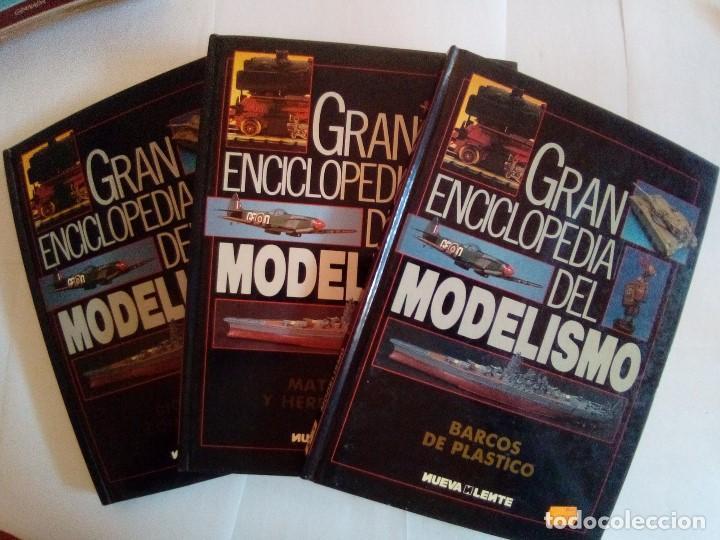 LOTE DE 3 TOMOS GRAN ENCICLOPEDIA DEL MODELISMO (Juguetes - Modelismo y Radiocontrol - Revistas)