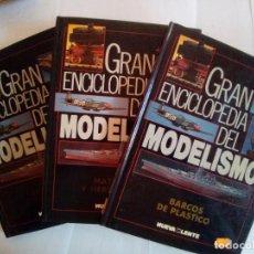 Hobbys: LOTE DE 3 TOMOS GRAN ENCICLOPEDIA DEL MODELISMO. Lote 171773359