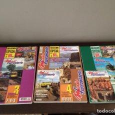 Hobbys: LOTE 5 REVISTAS : 3 MUNDO FERROVIARIO COLECCION ESPECIAL + 2 MAQUETREN COLECCION ESPECIAL.. Lote 172147787
