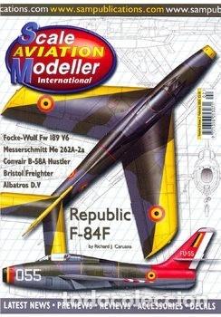 Hobbys: Scale Aviation Modeller International - Año 2003 (de enero a agosto: 8 revistas) - SAM Publications - Foto 2 - 174222139