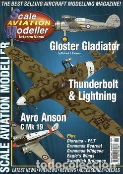 SCALE AVIATION MODELLER INTERNATIONAL - AÑO 2001 COMPLETO (12 REVISTAS) - SAM PUBLICATIONS (Juguetes - Modelismo y Radiocontrol - Revistas)