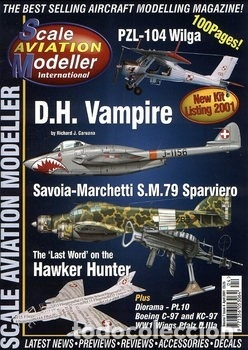 Hobbys: Scale Aviation Modeller International - Año 2001 completo (12 revistas) - SAM Publications - Foto 4 - 174222504