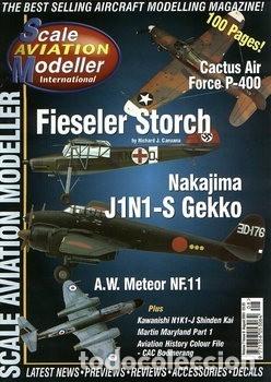 Hobbys: Scale Aviation Modeller International - Año 2001 completo (12 revistas) - SAM Publications - Foto 8 - 174222504