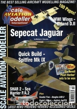 Hobbys: Scale Aviation Modeller International - Año 2001 completo (12 revistas) - SAM Publications - Foto 10 - 174222504
