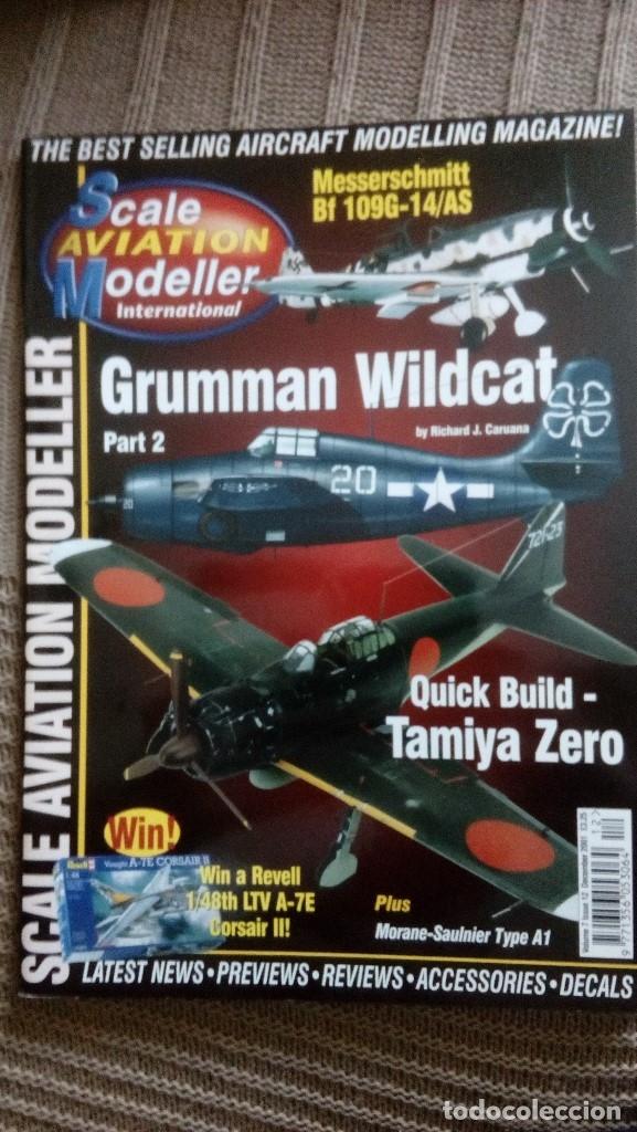 Hobbys: Scale Aviation Modeller International - Año 2001 completo (12 revistas) - SAM Publications - Foto 12 - 174222504