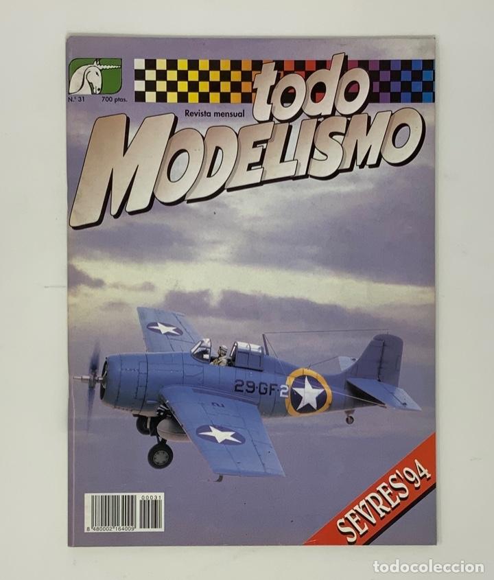 TODO MODELISMO Nº 31 (Juguetes - Modelismo y Radiocontrol - Revistas)