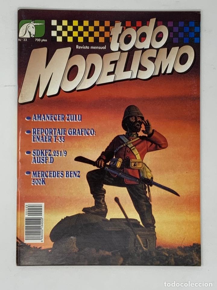 TODO MODELISMO Nº 33 (Juguetes - Modelismo y Radiocontrol - Revistas)
