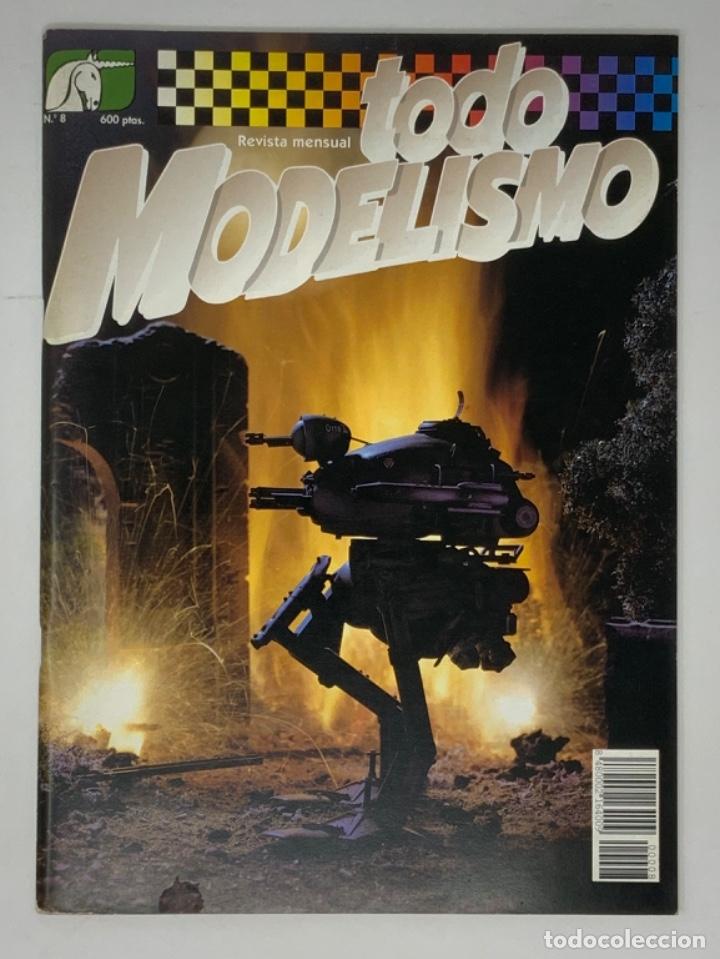 TODO MODELISMO Nº 8 (Juguetes - Modelismo y Radiocontrol - Revistas)