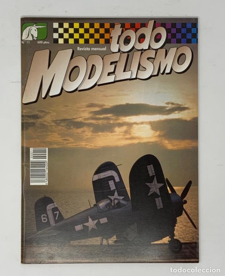TODO MODELISMO Nº 11 (Juguetes - Modelismo y Radiocontrol - Revistas)