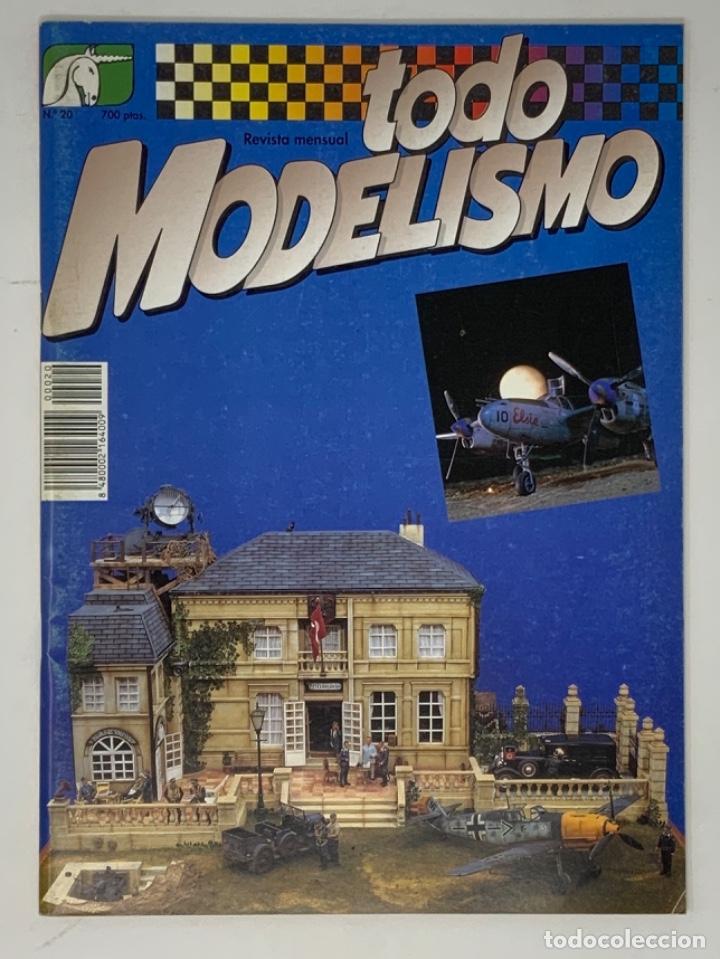 TODO MODELISMO Nº 20 (Juguetes - Modelismo y Radiocontrol - Revistas)