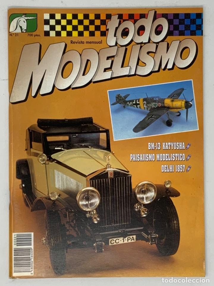 TODO MODELISMO Nº 21 (Juguetes - Modelismo y Radiocontrol - Revistas)