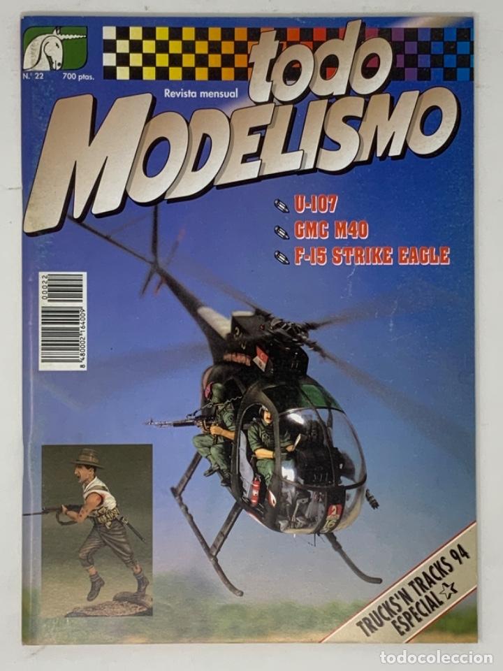 TODO MODELISMO Nº 22 (Juguetes - Modelismo y Radiocontrol - Revistas)