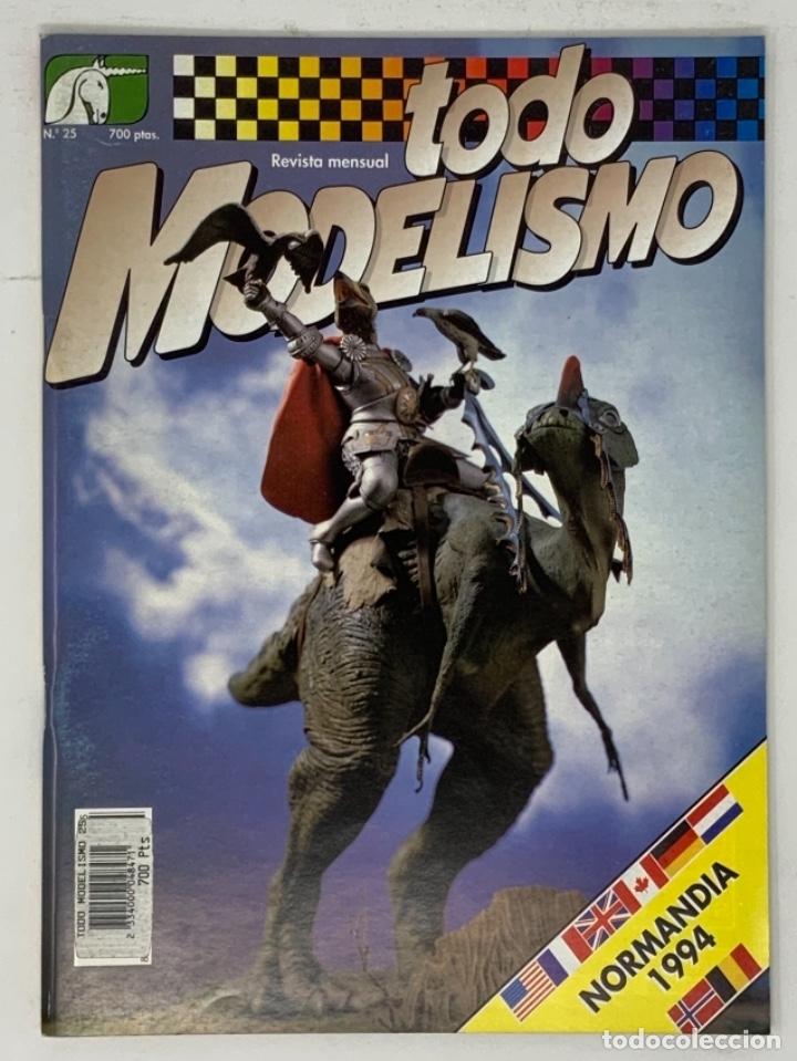 TODO MODELISMO Nº 25 (Juguetes - Modelismo y Radiocontrol - Revistas)