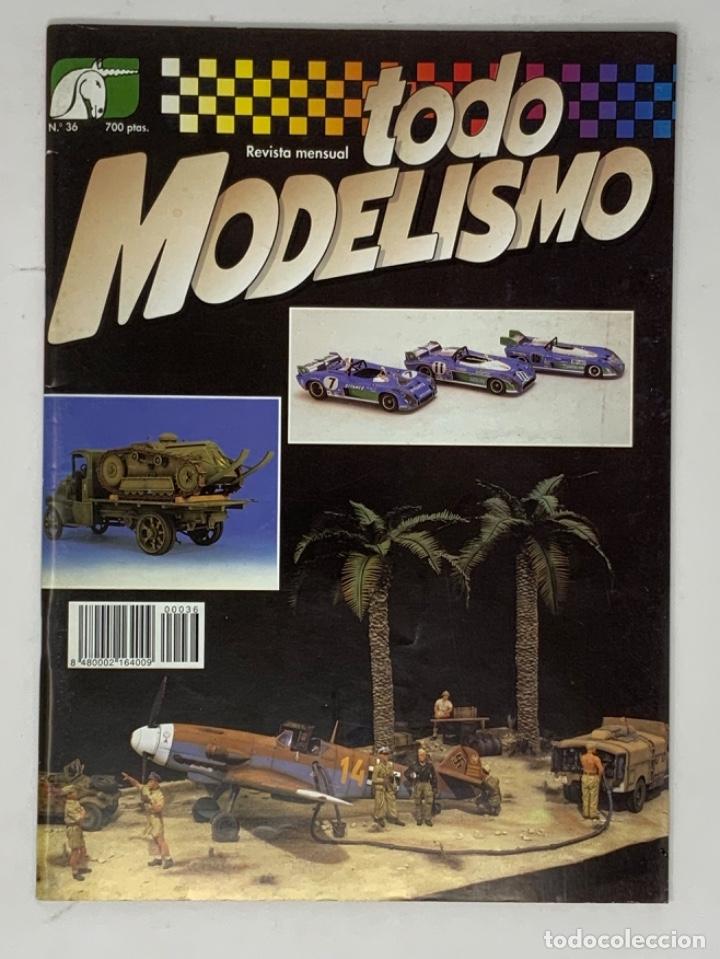 TODO MODELISMO Nº 36 (Juguetes - Modelismo y Radiocontrol - Revistas)