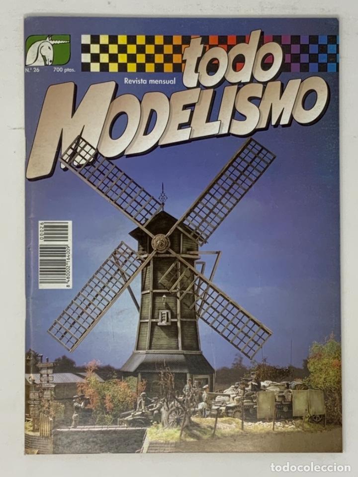 TODO MODELISMO Nº 26 (Juguetes - Modelismo y Radiocontrol - Revistas)