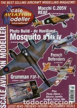 SCALE AVIATION MODELLER INTERNATIONAL - AÑO 2000 (DE FEBRERO A DICIEMBRE:11 REVISTAS) (Juguetes - Modelismo y Radiocontrol - Revistas)