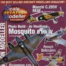 Hobbys: SCALE AVIATION MODELLER INTERNATIONAL - AÑO 2000 (DE FEBRERO A DICIEMBRE:11 REVISTAS). Lote 174222625