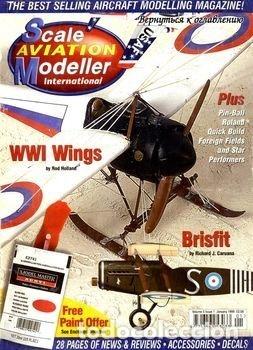 SCALE AVIATION MODELLER INTERNATIONAL - AÑO 1999 COMPLETO (12 REVISTAS) (Juguetes - Modelismo y Radiocontrol - Revistas)