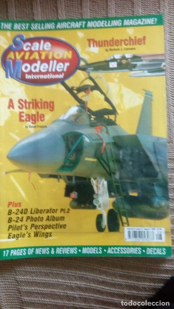 Hobbys: Scale Aviation Modeller International - Año 1999 completo (12 revistas) - Foto 8 - 175902028