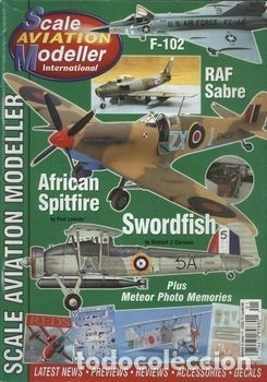 Hobbys: Scale Aviation Modeller International - Año 1999 completo (12 revistas) - Foto 11 - 175902028