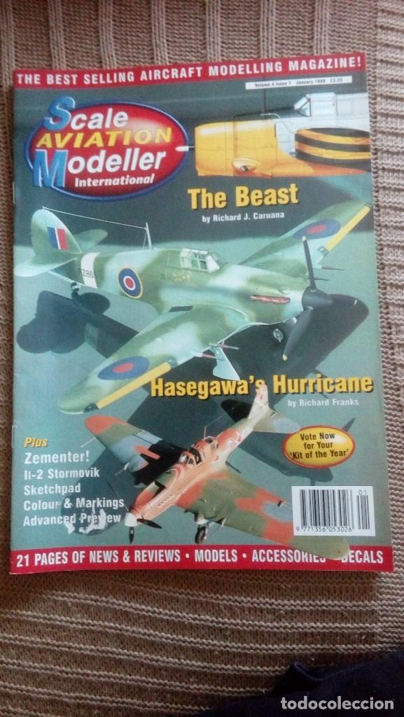 SCALE AVIATION MODELLER INTERNATIONAL - AÑO 1998 COMPLETO (12 REVISTAS) (Juguetes - Modelismo y Radiocontrol - Revistas)