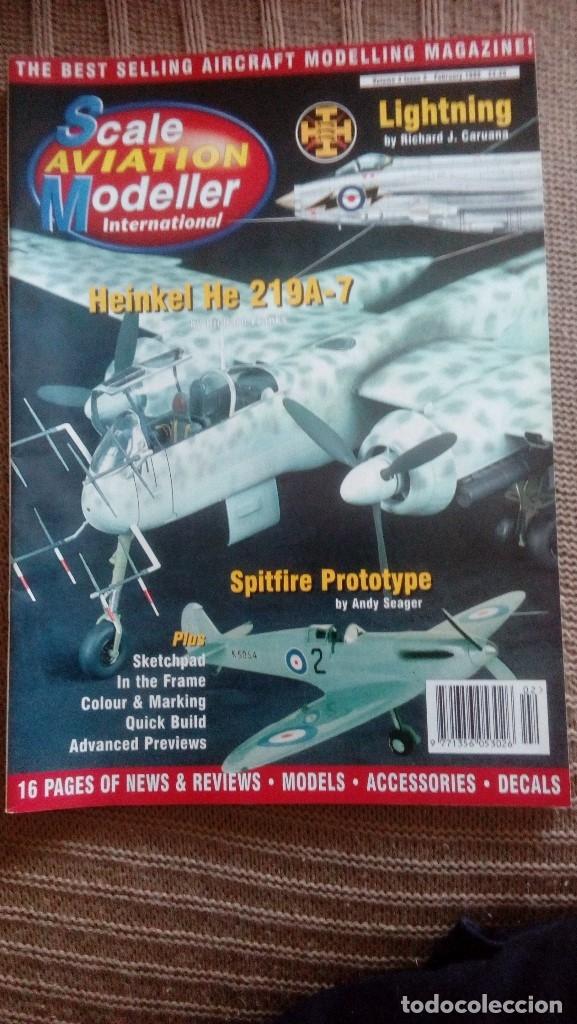 Hobbys: Scale Aviation Modeller International - Año 1998 completo (12 revistas) - Foto 2 - 175902240