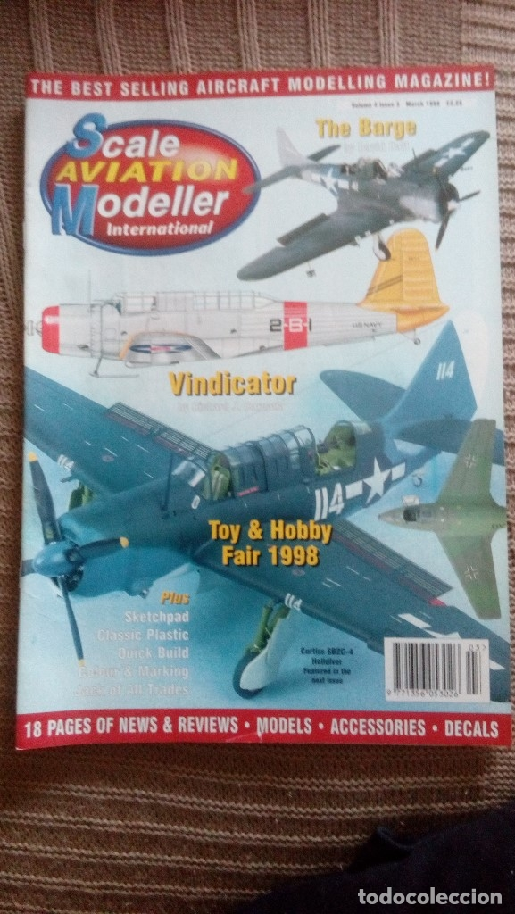 Hobbys: Scale Aviation Modeller International - Año 1998 completo (12 revistas) - Foto 3 - 175902240