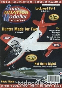 Hobbys: Scale Aviation Modeller International - Año 1998 completo (12 revistas) - Foto 4 - 175902240