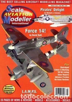 Hobbys: Scale Aviation Modeller International - Año 1998 completo (12 revistas) - Foto 5 - 175902240