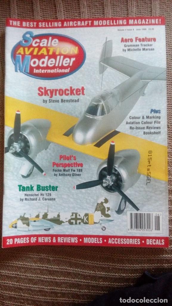 Hobbys: Scale Aviation Modeller International - Año 1998 completo (12 revistas) - Foto 6 - 175902240