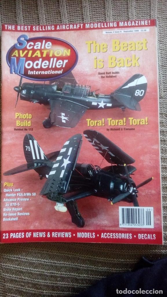 Hobbys: Scale Aviation Modeller International - Año 1998 completo (12 revistas) - Foto 7 - 175902240