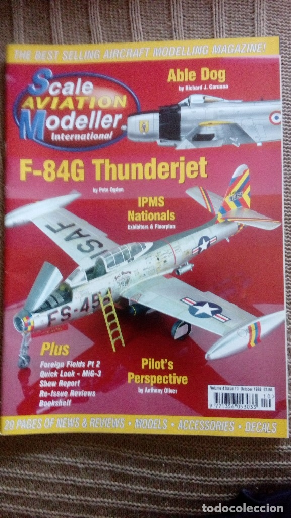 Hobbys: Scale Aviation Modeller International - Año 1998 completo (12 revistas) - Foto 10 - 175902240