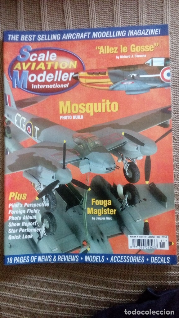Hobbys: Scale Aviation Modeller International - Año 1998 completo (12 revistas) - Foto 11 - 175902240