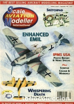 SCALE AVIATION MODELLER INTERNATIONAL - SEPTEMBER 1997 (Juguetes - Modelismo y Radiocontrol - Revistas)