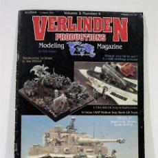 Hobbys: REVISTA VERLINDEN PRODUCTION AGOSTO 1994. Lote 177710977