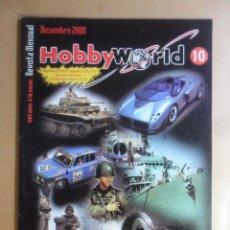Hobbys: Nº 10 - HOBBYWORLD / HOBBY WORLD - DICIEMBRE - 2000 ** VER INDICE. Lote 179233513