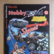Hobbys: Nº 12 - HOBBYWORLD / HOBBY WORLD - FEBRERO - 2001 ** VER INDICE. Lote 179233653