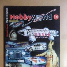 Hobbys: Nº 14 - HOBBYWORLD / HOBBY WORLD - MAYO/JUNIO - 2001 ** VER INDICE. Lote 179233840