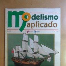 Hobbys: Nº 22 - MODELISMO APLICADO - BARCOS DE MADERA - ED. CONTRASTES . Lote 179396941