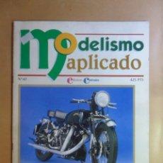 Hobbys: Nº 47 - MODELISMO APLICADO - SUPERDETALLADO DE MOTOS - ED. CONTRASTES . Lote 179398296