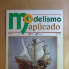 Hobbys: Nº 54 - MODELISMO APLICADO - BARCOS A PARTIR DE PLANOS - ED. CONTRASTES . Lote 179398452