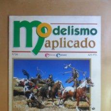 Hobbys: Nº 56 - MODELISMO APLICADO - DIORAMA OESTE I - ED. CONTRASTES . Lote 179398641