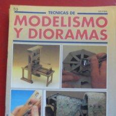 Hobbys: MODELISMO Y DIORAMAS Nº 33. Lote 182922575