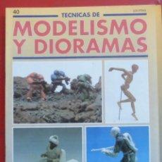 Hobbys: MODELISMO Y DIORAMAS Nº 40. Lote 182923151